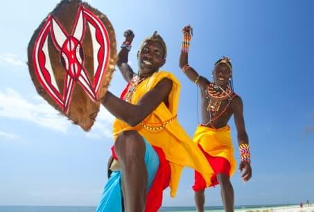 Safari et sable blanc, merveilleux Kenya
