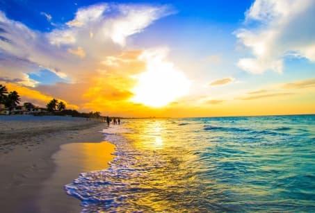 Détente sur les plages des Caraibes