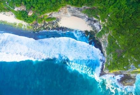Sur les plages de Bali