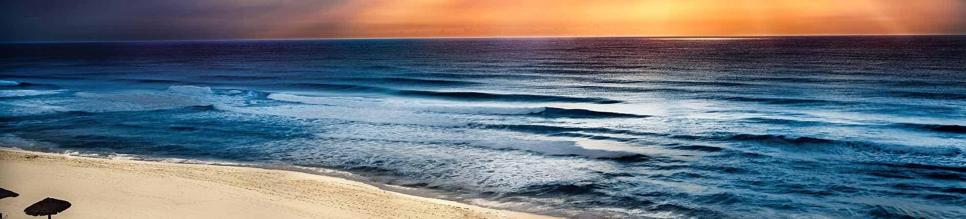 Soleil et sable blanc
