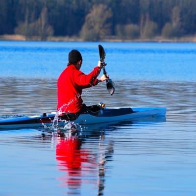 Les roches de Hienghène en kayak