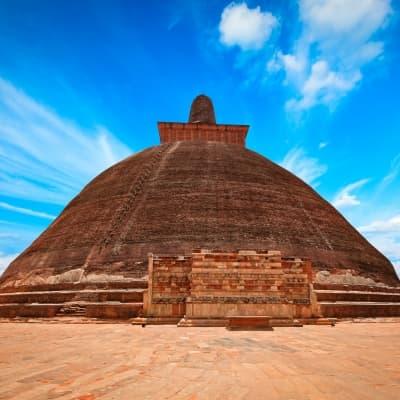 Visite du site archéologique d'Anuradhapura