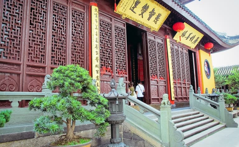 Le temple du Bouddha de Jade, le musée d'art et d'Histoire, la vieille ville et le Jardin Yu