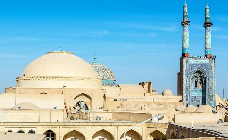 Yazd, à la croisée des vents