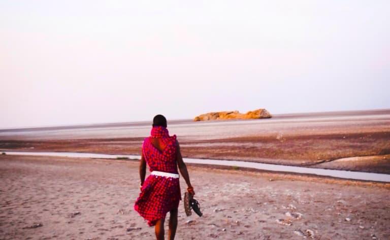 Marche avec les Masais au Lac Natron