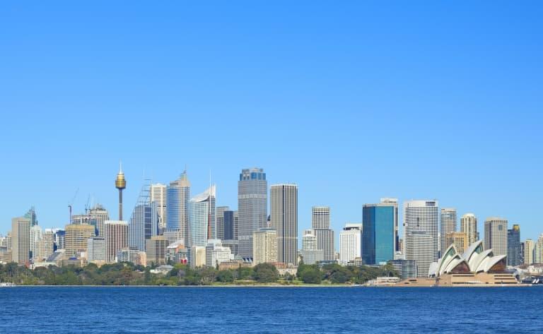 Arrivée à Sydney