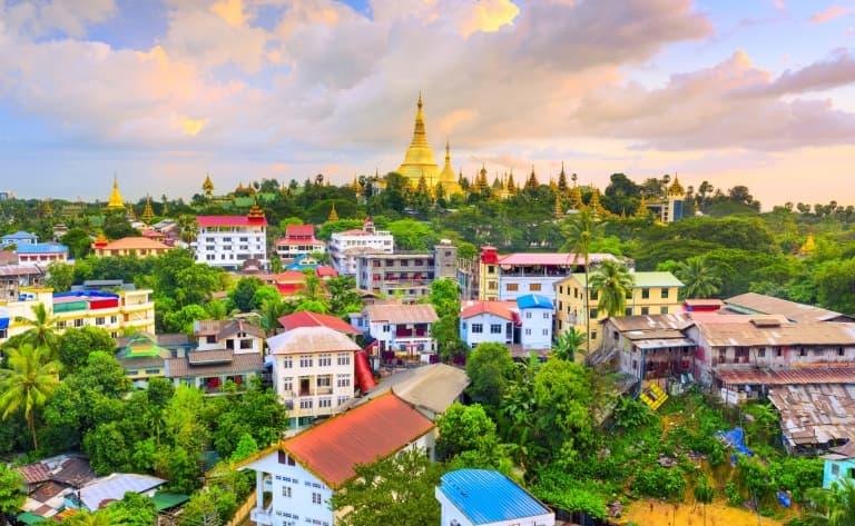 Départ du Myanmar
