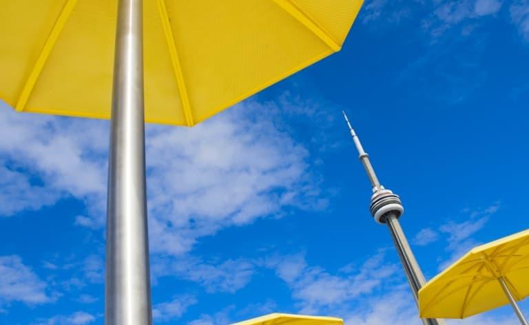 Dîner au restaurant panoramique de la CN Tower