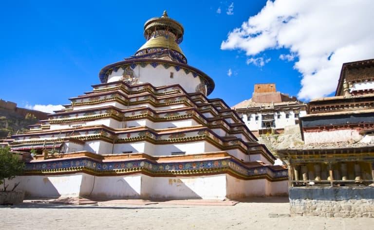 Visite du monastère Pelkor Chode et celui du Kumbum