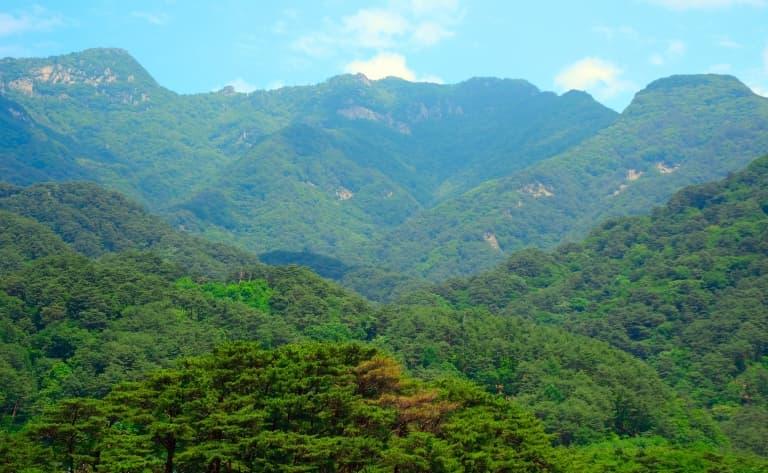 Le Mont Myohyang