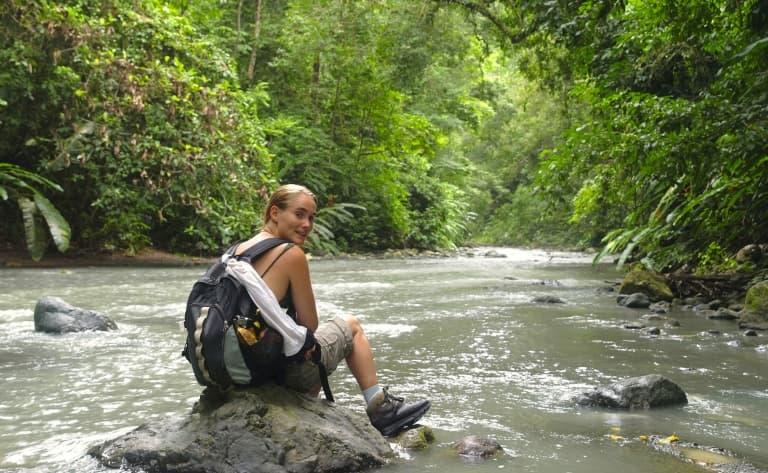 Randonnée au Parc National Corcovado