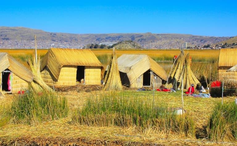 Au bord du lac Titicaca