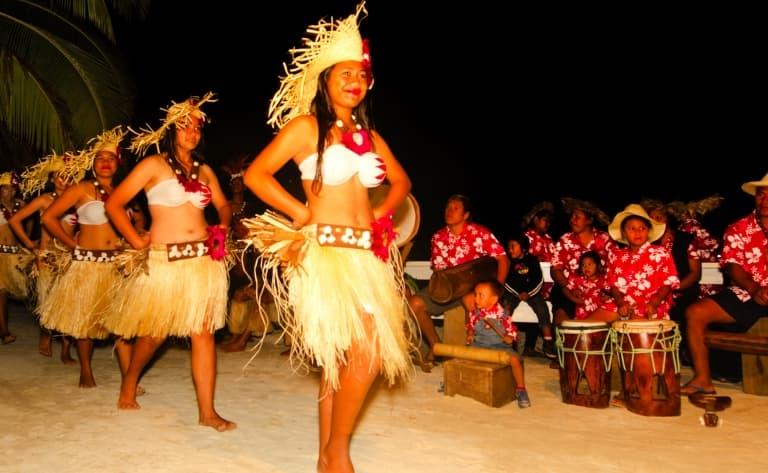 Dans la peau d'un polynésien sur l'Ile Vanille