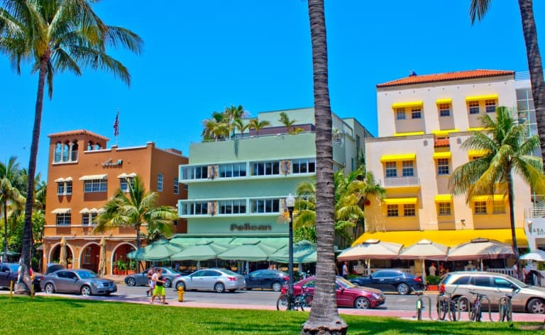 Le Quartier Art Deco et South Beach