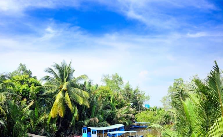 Saigon ou le delta du Mékong