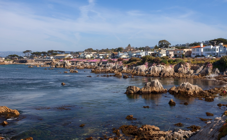 Visite de Monterey l'authentique !