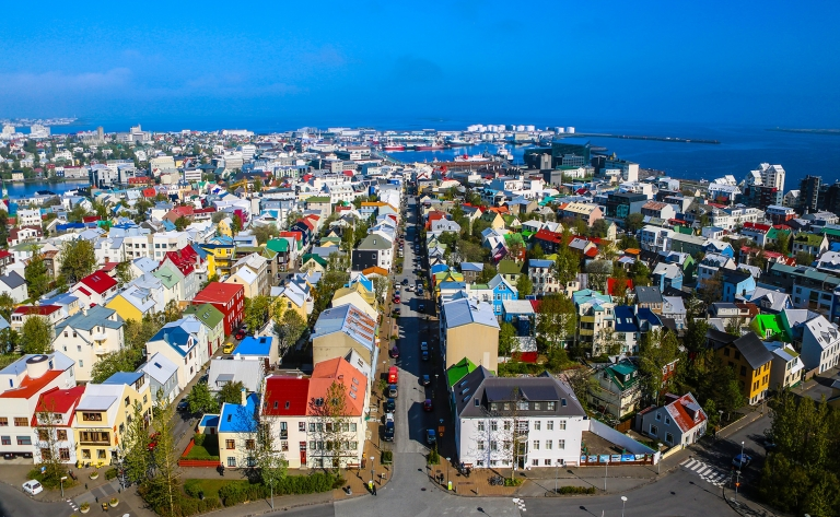 Retour vers la capitale islandaise